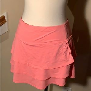 Athleta Skort size M Orange